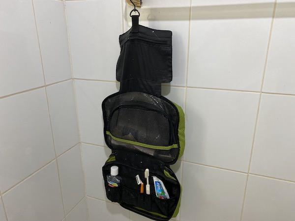 バッグスマートのバスルームポーチ