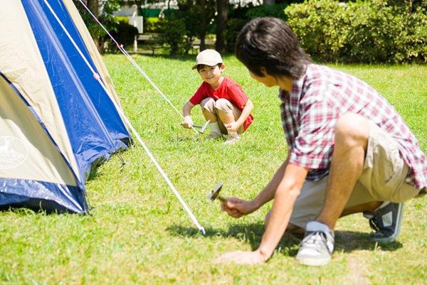 5月のキャンプ