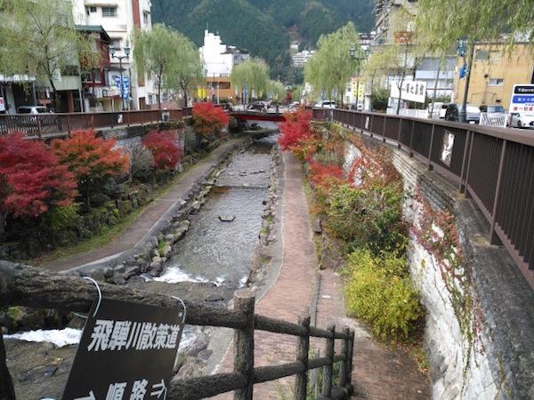 下呂温泉のメインストリート