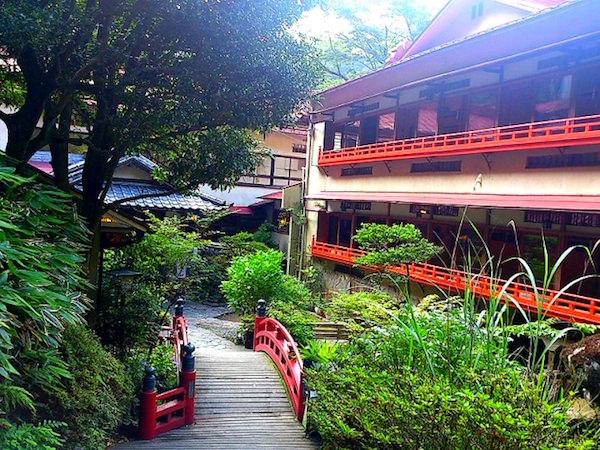 箱根の温泉旅館