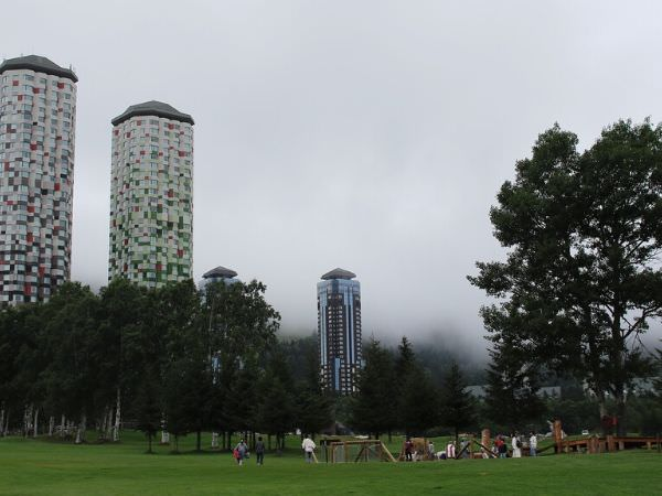 星野リゾートトマムのザ・タワー