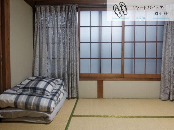 石垣島リゾートバイト中に過ごした個室寮