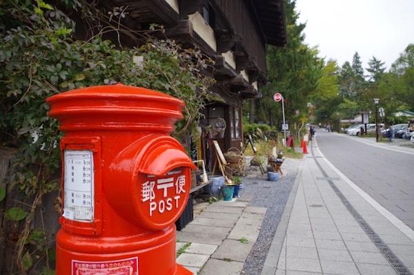 軽井沢の街並み2