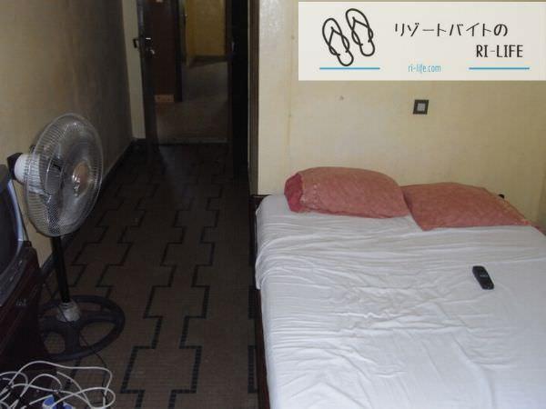 東京リゾートバイトで過ごしていた個室寮
