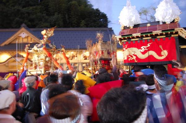 城崎だんじり祭り