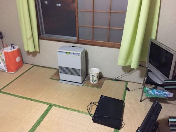 リゾートバイトにおける一部共同寮の部屋