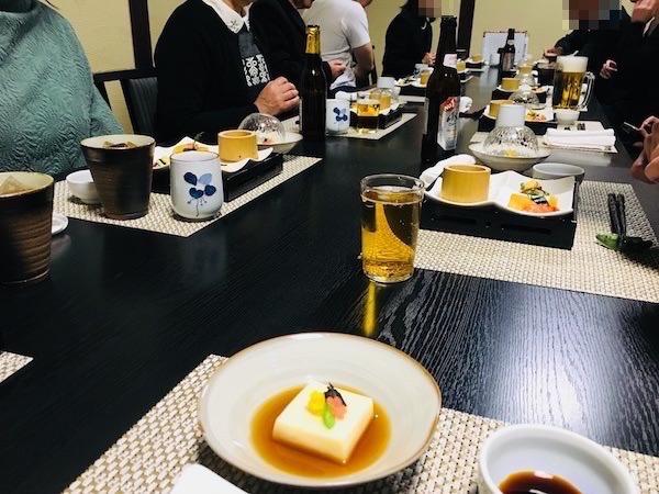 会席料理レストラン1