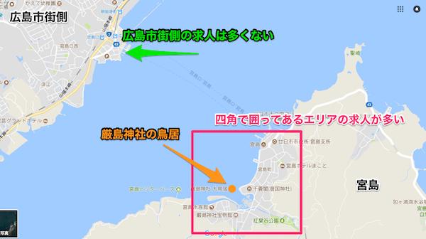 宮島エリアMAP