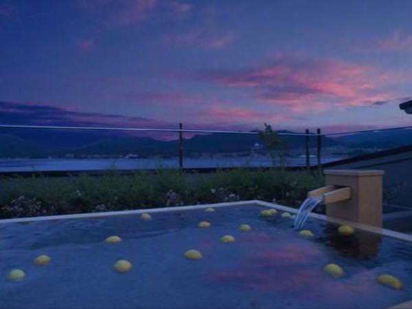 宮島の露天風呂