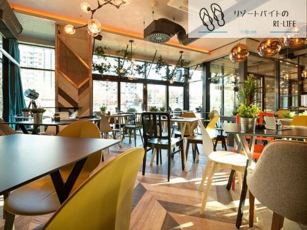 那覇のリゾートバイトで働いた国際通りにあるホテルのレストラン