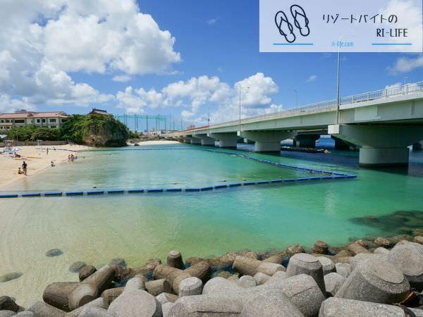 沖縄県那覇市の波の上ビーチ