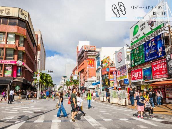 那覇市内国際通りの写真2