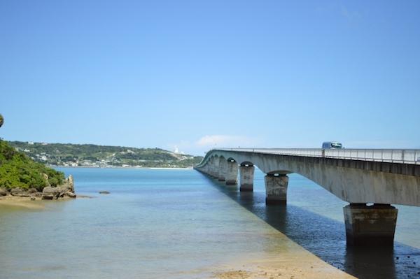沖縄県古宇利島への橋