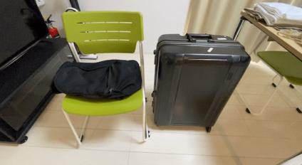 1週間のリゾートバイトに持っていったスーツケースとリュック