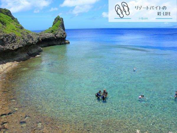 恩納村のビーチ2