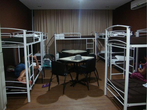 リゾートバイトの相部屋寮