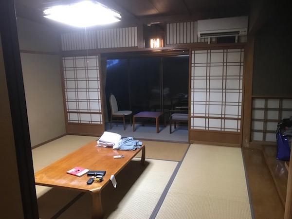 リゾートバイトの客室寮
