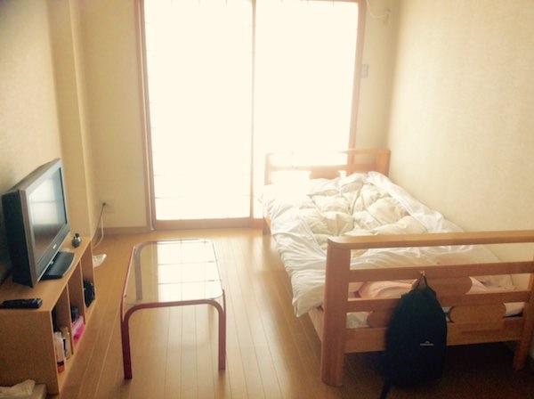 リゾートバイトの1Rタイプ個室寮2