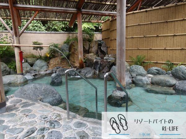 温泉旅館でのリゾバ中に毎日入浴していた温泉