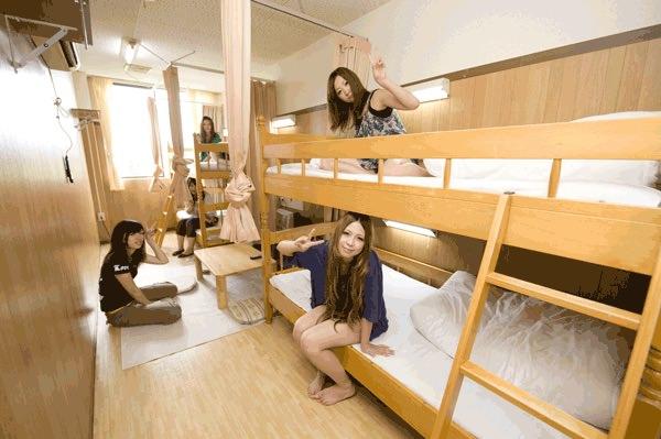 リゾートバイトの女性相部屋寮