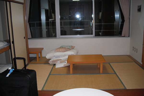 民宿の客室