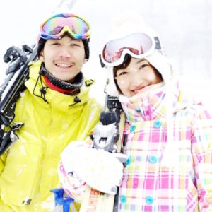 スキーのインストラクター