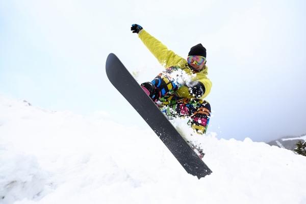 スノーボードプレイヤー