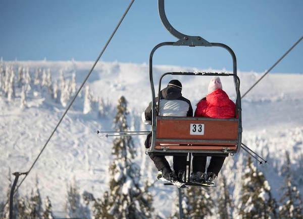 スキー場リフト