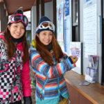 スキー場 チケット売り場