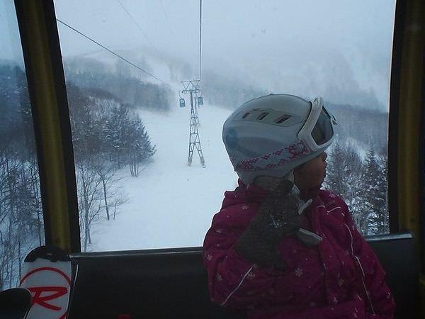 トマムのスキー場リフト