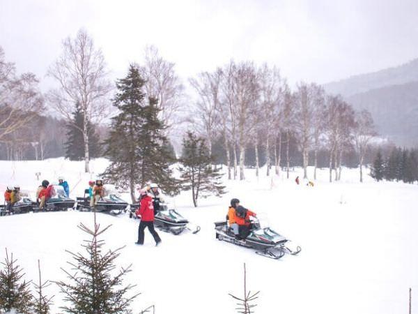 トマムのスキー場