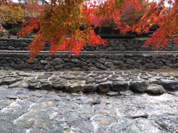秋の下呂温泉