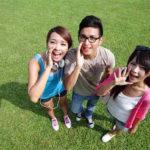 3人の友達